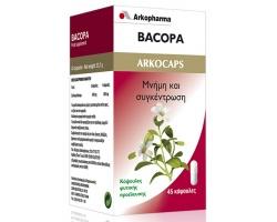 BACOPA ARKOCAPS - Μνήμη, Συγκέντρωση