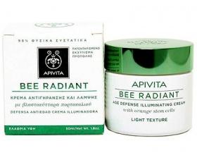 Apivita Bee Radiant Κρέμα Αντιγήρανσης και Λάμψης με Ελαφριά Υφή