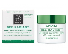 Apivita Bee Radiant Κρέμα Αντιγήρανσης και Λάμψης με Πλούσια Υφή