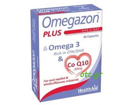 Omegazon PLUS Ω3 & CoQ10 Καρδιά – Κυκλοφορικό