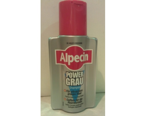 ALPECIN SHAMPOO POWER GRAU για Γκρίζα - Λευκά Μαλλιά