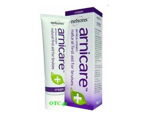 Arnica Cream 30gr - Αντιμετώπιση μυϊκών πόνων, διαστρεμμάτων και θλάσεων