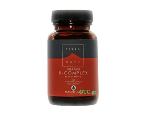 TERRANOVA B – Compex with vitamin C - Νευρικό Σύστημα, Άγχος, Αιμοποιητικό, Μεταβολισμός