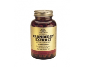 CRANBERRY EXTRACT WITH VITAMIN C veg.caps - Κυστίτιδα - προστασία από μολύνσεις ουροφόρου οδού