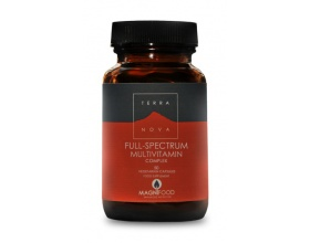 TERRANOVA Full Spectram Multivitamins - Πολυβιταμίνη για Τόνωση, Ενέργεια, Κάλυψη Διατροφικών Συστατικών