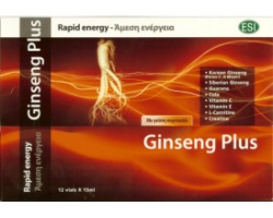GINSENG PLUS RAPID ENERGY ESI