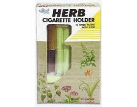 HERB CIGARETTE HOLDER + 12 FILTERS