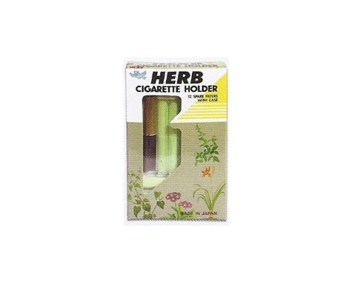 HERB CIGARETTE HOLDER + 12 FILTERS