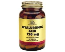 HYALURONIC ACID 120mg tablets - Κατά της γήρανσης του δέρματος - βελτίωση εμφάνισης δέρματος και μαλλιών, υγεία αρθρώσεων