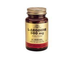 L-ARGININE 500mg veg.caps - Επιδιόρθωση ιστών-αύξηση σπέρματος-στύση