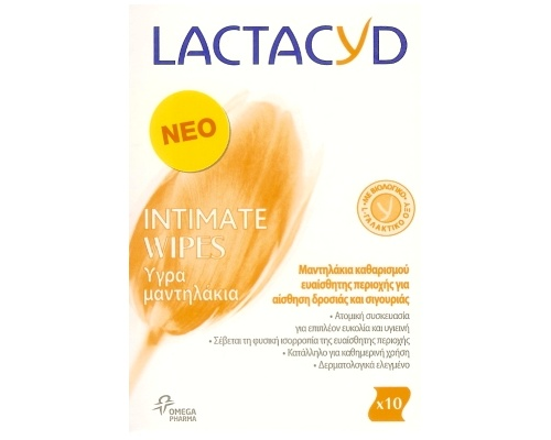 LACTACYD Intimate Wipes