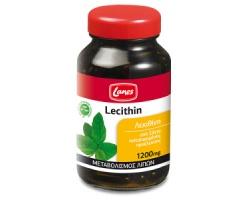 Lanes Lecithin 1200 mg - ο φυσικός λιποδιαλύτης για μεταβολισμό των λιπών