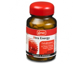 Lanes Xtra Energy Πολυβιταμίνες & μέταλλα - Ενέργεια και τόνωση