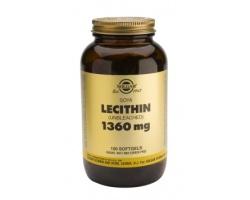 LECITHIN 1360mg softgels - Νευρικό σύστημα - χοληστερόλη - πρόληψη χολολίθων - μολύνσεις ιών - υγεία ήπατος - αρτηριοσκλήρυνση