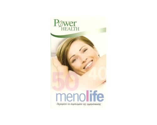 Menolife  - Περιορίζει τα συμπτώματα της εμμηνόπαυσης