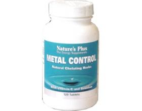 METAL CONTROL Nature's Plus – Προστασία και αποτοξίνωση από βαρέα μέταλλα