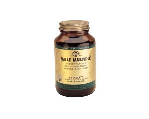 MALE MULTIPLE tabs 60s - Πολυφόρμουλα με διατροφικά στοιχεία για άνδρες