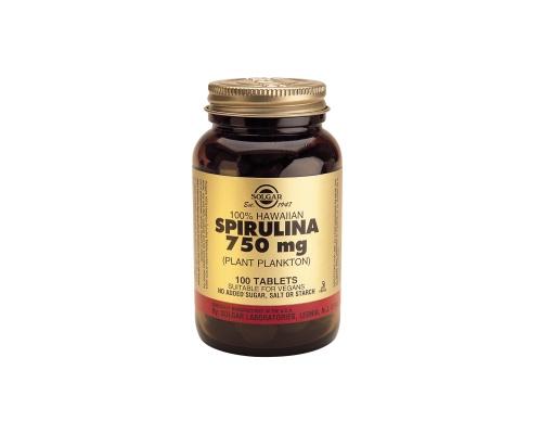 SPIRULINA 750mg tablets 100s - Τονωτικό - πηγή πρωτεΐνης - μείωση όρεξης