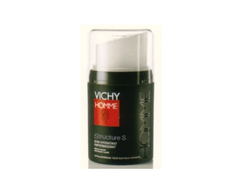 VICHY HOMME Structure S – Αντιρυτιδική και συσφικτική φροντίδα ενυδάτωσης