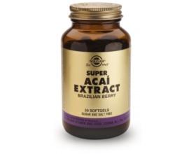SUPER ACAI EXTRACT softgels 50s - Αντιοξειδωτική, αντιγηραντική δράση