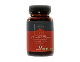 TERRANOVA Vitamin C 250mg Complex - Ενίσχυση Ανοσοποιητικού, Αντισταμινική & Αντιοξειδωτική Δράση