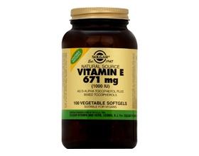 VITAMIN E natural 1000 IU softgels - Βιταμίνη E με αναμειγμένες τοκοφερόλες-αντιοξειδωτικό-καρδιαγγειακό σύστημα-επούλωση πληγών-γεννητικό σύστημα