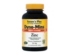 ZINC 50mg Dyno-Mins  Nature's Plus