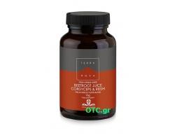 TERRANOVA Beetroot juice, Cordyceps & Reishi – Για αντοχή και ενέργεια