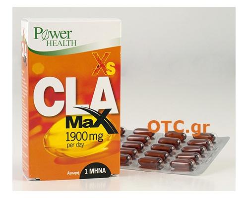 Power Health Xs CLA Max 1900 per day - Για κάψιμο λίπους στο Maximum