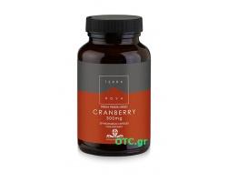 TERRANOVA Cranberry 300mg Βιολογικά κράνμπερρυ για υγιές ουροποιητικό