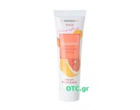 Korres Grapefruit Μάσκα άμεσης λάμψης