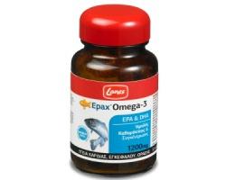 Lanes Epax Omega-3 Για την υγεία της καρδιάς, του εγκεφάλου και της όρασης