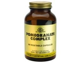 POMEGRANATE COMPLEX veg.caps 90s - Φόρμουλα με βιολογικό ρόδι - καρδιαγγειακή υγεία