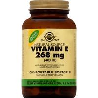 VITAMIN E natural 400IU softgels - Βιταμίνη E με αναμειγμένες τοκοφερόλες-αντιοξειδωτικό-καρδιαγγειακό σύστημα-επούλωση πληγών-γεννητικό σύστημα