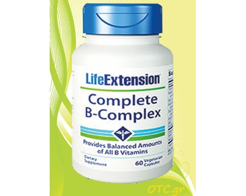 Life Extension COMPLETE B-COMPLEX η ισχυρή φόρμουλα Β