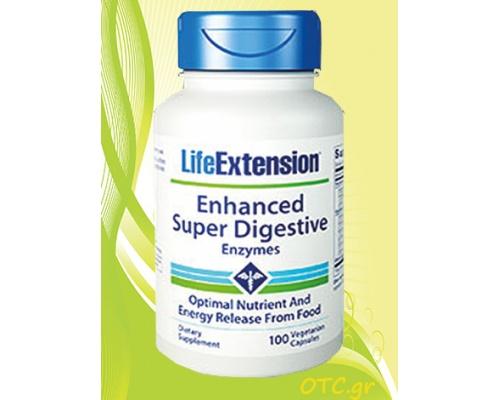 Enhanced Super Digestive Enzymes Για τη σωστή λειτουργία του Πεπτικού Συστήματος