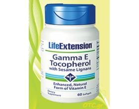 GAMMA Ε TOCOPHEROL with sesame lignans - αντιοξειδωτική προστασία