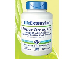 Life Extension SUPER OMEGA-3 EPA/DHA with sesame lignans and olive fruit extract
