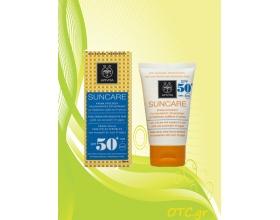 APIVITA Αντιηλιακή Κρέμα Προσώπου για Ευαίσθητες Επιδερμίδες SPF50+