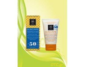 APIVITA Αντιηλιακή Κρέμα Προσώπου για τις Πανάδες SPF50