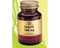 Solgar COENZYME Q-10 100mg softgels - Μυοκάρδιο-καρδιοαγγειακό σύστημα-ανοσοποιητικό σύστημα-ελεύθερες ρίζες-κυτταρική ενέργεια