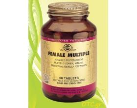 Solgar FEMALE MULTIPLE tablets – Πολυφόρμουλα με διατροφικά στοιχεία για γυναίκες