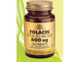 Solgar Folacin (Folic Acid) 800μg - Αναιμία