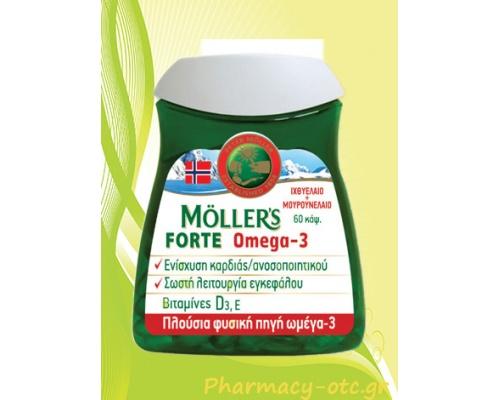MOLLER'S Forte Omega-3 60caps