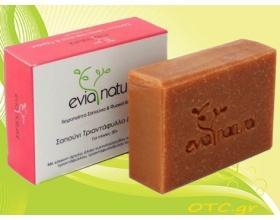 Evianatural Χειροποίητο Σαπούνι Τριαντάφυλλο & Γεράνι