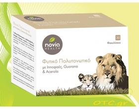 Novia Health Φυτικό Πολυτονωτικό με Ιπποφαές, Guarana & Acerola