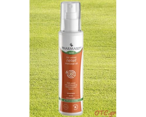 Tol Velvet Relief Massage Oil - Λάδι μασάζ με 10 φυτικά έλαια για χαλάρωση & καταπραϋντική δράση