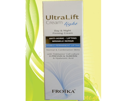 Froika Ultralift Cream Light – Αντιγηραντική κρέμα ημέρας και νύχτας