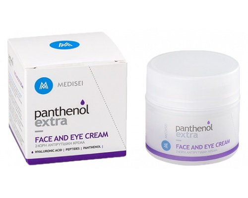 Panthenol Extra Face & Eye Cream - Αντιρυτιδική προστασία