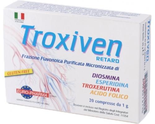 Troxiven RETARD για αιμορροΐδες, κιρσούς, φλεβίτιδα και ευρυαγγείες